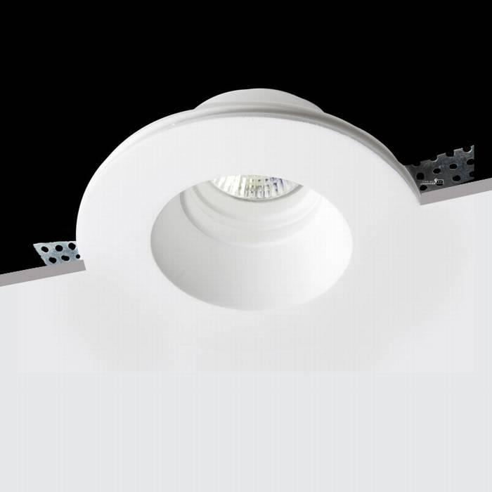 מאוד גוף תאורה גבס שקוע עגול - שקע ותקע תאורה HL-48