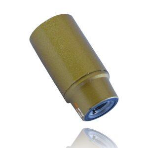 בית מנורה פלסטיק חלק זהב E14