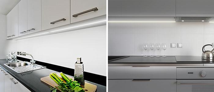 תאורה נסתרת במטבח