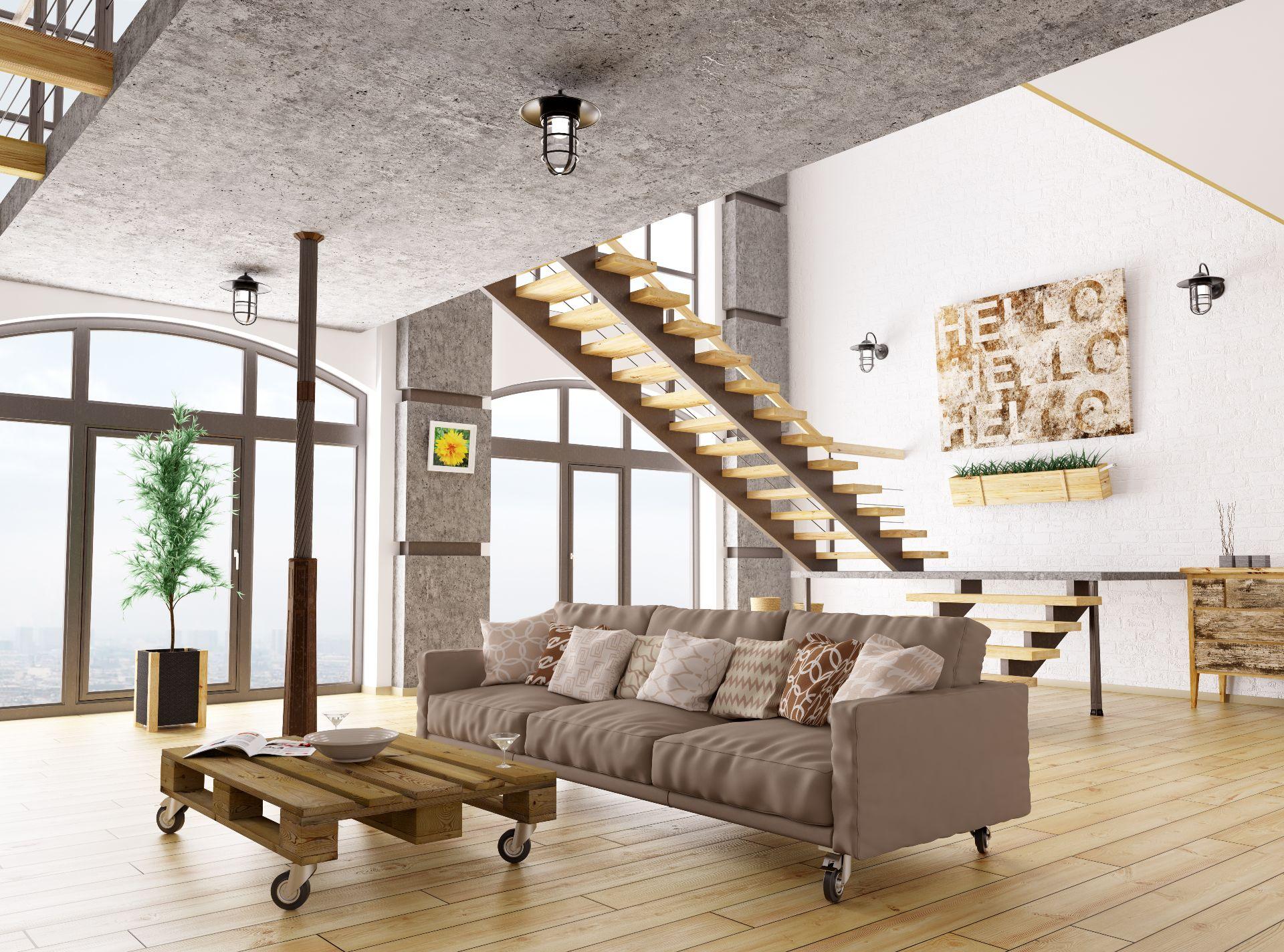 עיצוב תאורה בתקרה גבוהה