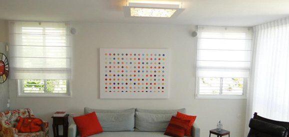 עיצוב תאורה לתקרה נמוכה