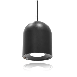 מנורת תליה אלגרו ראש עגול בצבע שחור