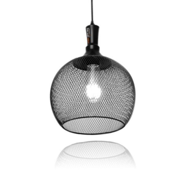 מנורת תליה בגנון כלוב בצורת כדור