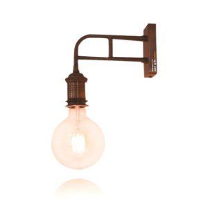 מנורת קיר למסדרון זרוע קיר נחושת יצוקה