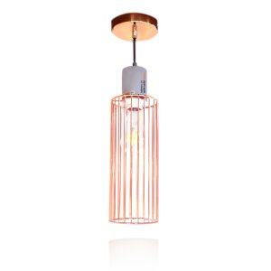 מנורת תליה בצבע נחושת 3943