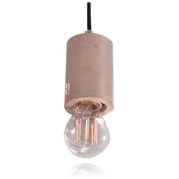 מנורת תליה מבטון רוש קצר