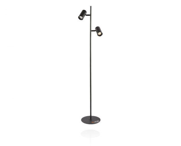 מנורת-עמידה-8004-כפול-שחור
